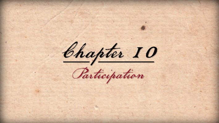 "Founding Principles | ""Participation"""