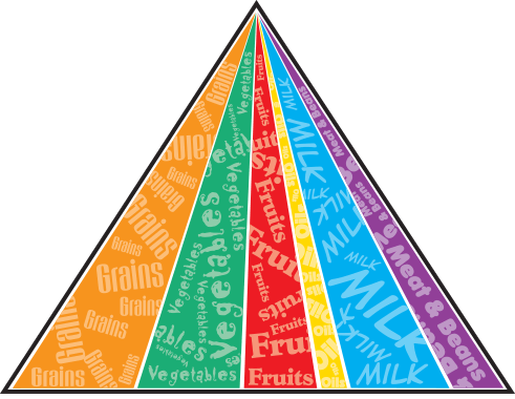 Modern Food Pyramid | Health and Nutrition