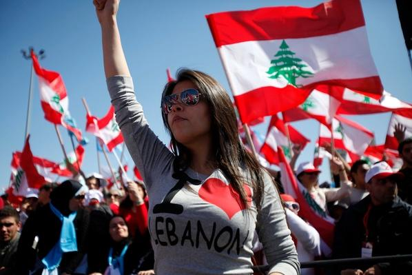 Mass Rally in Beirut to demand Hezbollah Disarm | Arab Spring