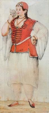Greek or Turkish woman