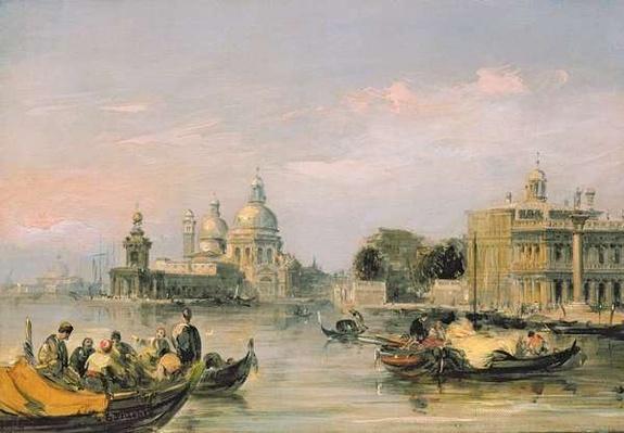 Santa Maria della Salute, Venice, 19th century