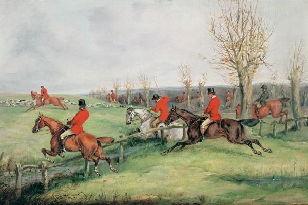 Sporting Scene, 19th century
