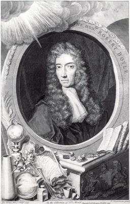Portrait of the Honorable Robert Boyle
