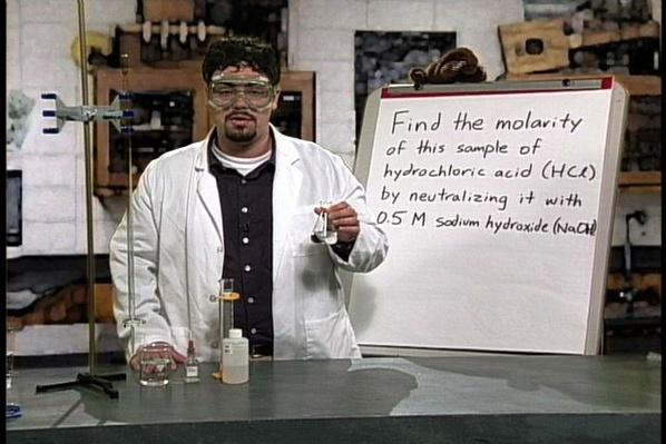 Chemistry 1103: Neutralization Reactions