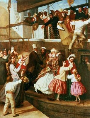 Embarkation Scene