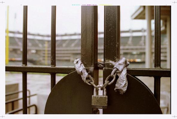 The Padlocked Gates of Jacobs Field | Ken Burns: Baseball: The Tenth Inning