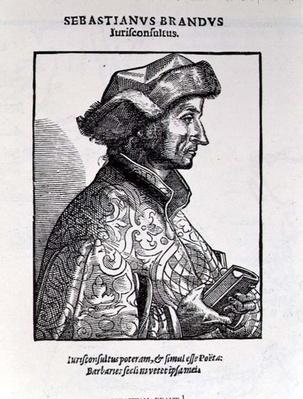 Portrait of Sebastian Brant