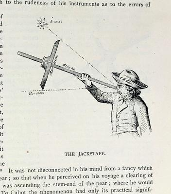 The Jackstaff, from 'The Narrative and Critical History of America', edited by Justin Winsor, London, 1886