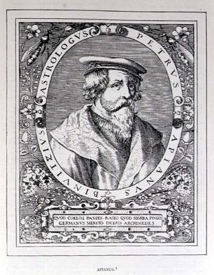 Portrait of Petrus Apianus