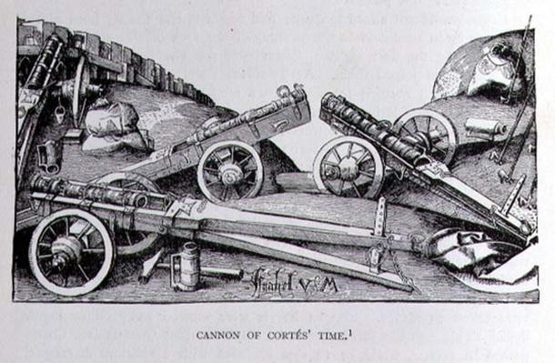 Cannon of Cortes' Time, from 'The Narrative and Critical History of America', edited by Justin Winsor, London, 1886
