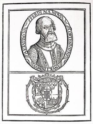 Portrait of Hernado Cortes