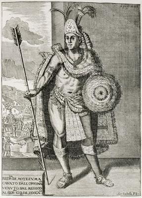 Portrait of Montezuma II - W&N
