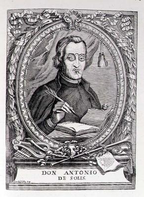 Portrait of Antonio de Solis y Rivadeneira