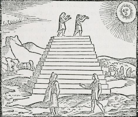 'Peruvians Worshipping the Sun', from 'The Narrative and Critical History of America', edited by Justin Winsor, London, 1886