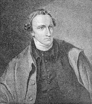 Portrait of Patrick Henry, engraved by William Satchwell Leney