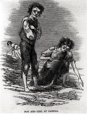 Boy and Girl at Cahera