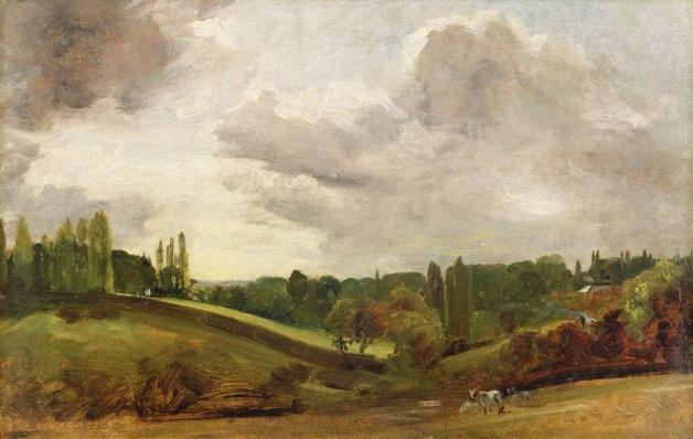 View of East Bergholt, c.1813