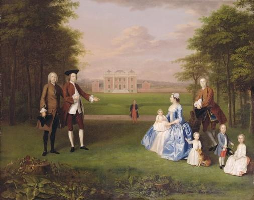 Robert Gwillym of Atherton and his Family, c.1745-7