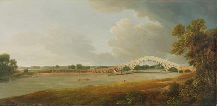 Old Walton Bridge, 1785