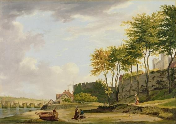 The Medway at Rochester, 1776