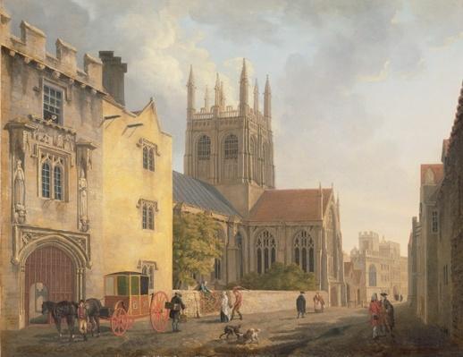 Merton College, Oxford, 1771