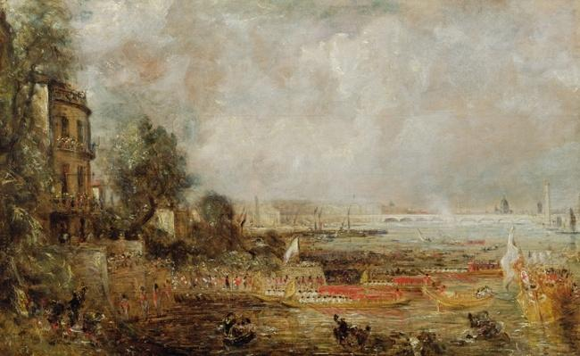 The Opening of Waterloo Bridge, c.1829-31