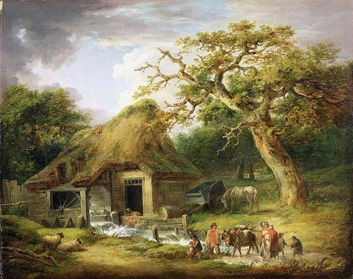 The Old Water Mill, 1790