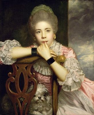 Mrs Abington as Miss Prue in Congreve's 'Love for Love,' 1771