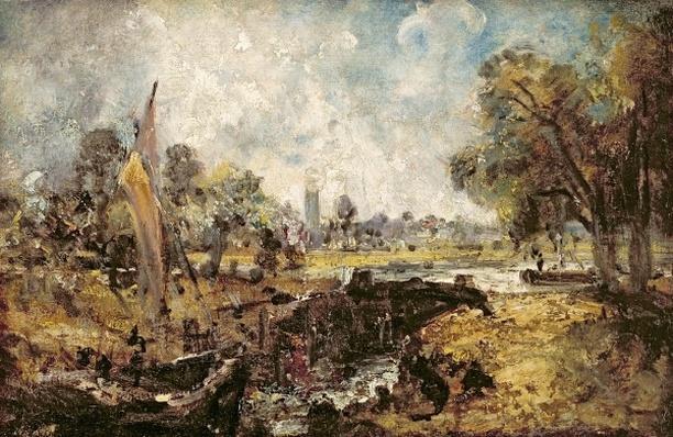 Dedham Lock, c.1820