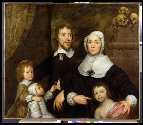 Portrait of a Family, Probably that of Richard Streatfeild, c.1645