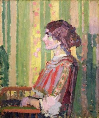 Mrs Robert Bevan, c.1913