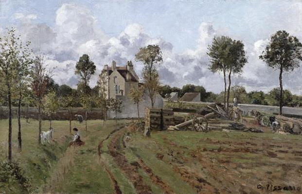 Pontoise Landscape, c.1872