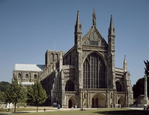 Romanesque and Gothic Art | Winchester Cathedral | Monuments and Buildings