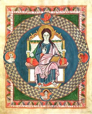 Cod. 1948 Christ in Majesty