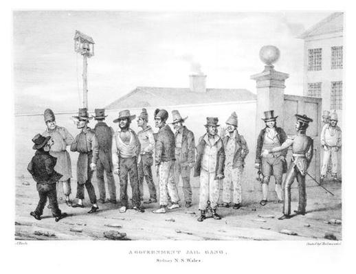 A Government Jail Gang, Sydney, New South Wales, 19th century