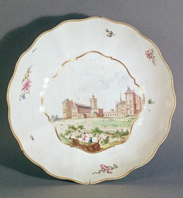 Vincennes plate, c.1745