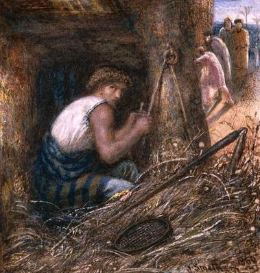 Saul Hiding among the Stuff, 1866