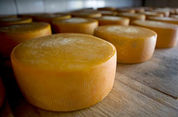Cheese Wheels Age on Wood Racks | Earth's Resources