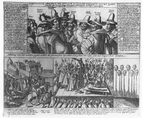 The Gunpowder Plot Conspirators, 1606