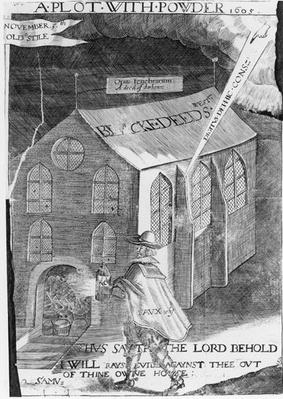 A Plot with Powder, 1605