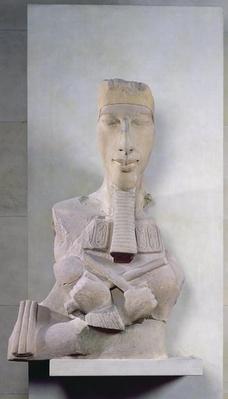 Osirid pillar of Amenophis IV
