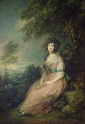 Mrs. Richard Brinsley Sheridan, c.1785-87