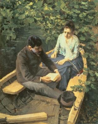 In the Boat, 1888