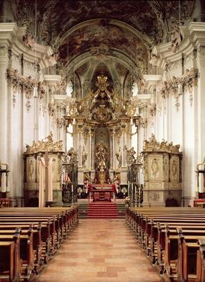 Interior, designed by Balthasar Neumann