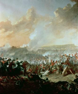 The Battle of Waterloo, 18th June 1815