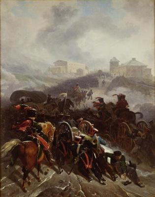 The French Army Crossing the Sierra de Guadarrama, Spain, December 1808, 1812