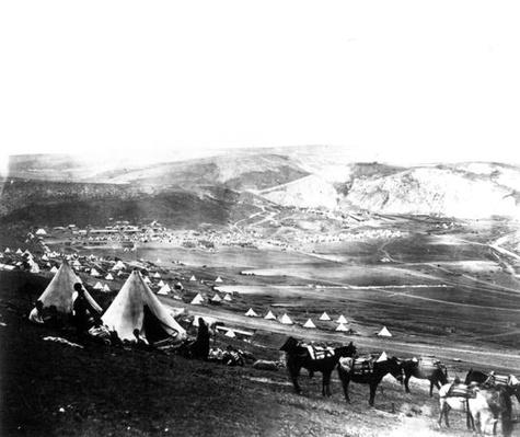 Allied Encampment, Crimea, c.1855