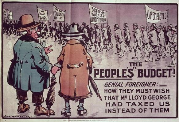 'The People's Budget', 1909