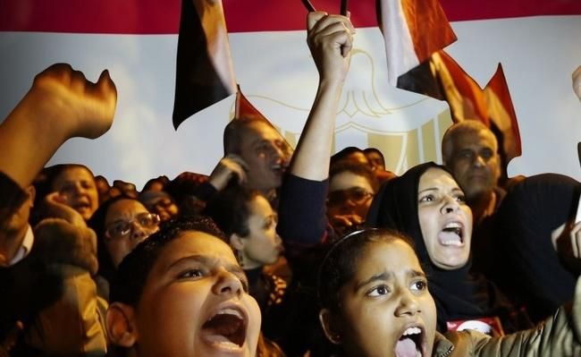 Revolution in Egypt Educational Resource