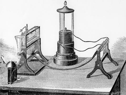 Soemmering's Perfected Telegraph, 1883